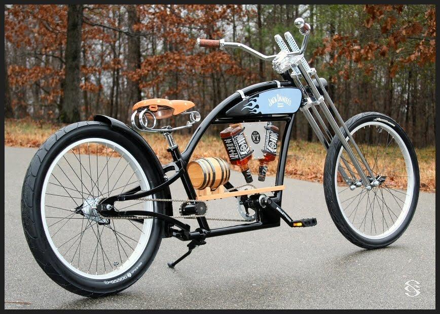 Al Estilo De Las Motos Chopper Americanas Son Bicicletas ...