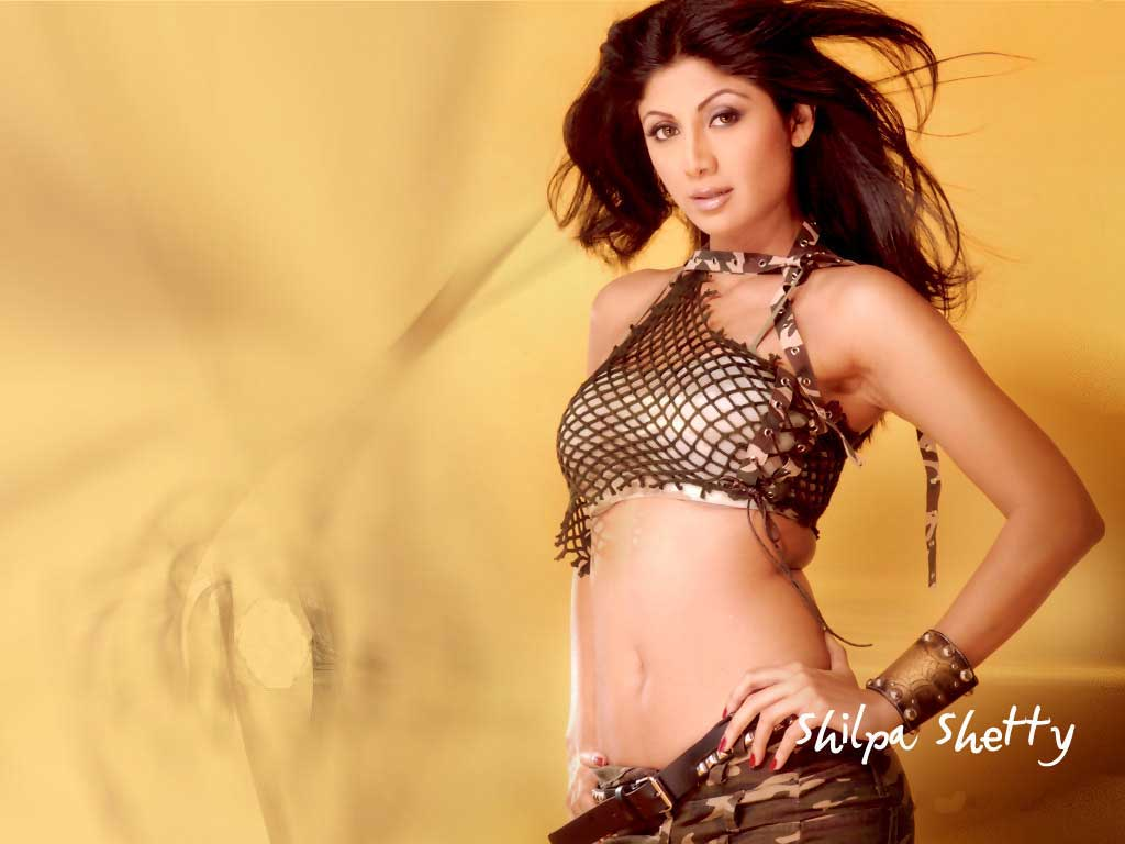 Bollywood Fan Shilpa Shetty Without Clothes Wallpaper Hot -6316
