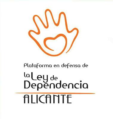 Enlace al blog de la Plataforma en defensa de la Ley de Dependencia - Alicante