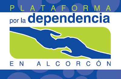 Logotipo de la Plataforma por la ley de dependencia de Alcorcón