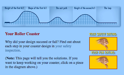 amusement park physics roller coaster