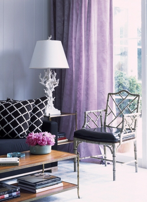 RoomPolish: Regal in Purple - Purple Curtains Ikea