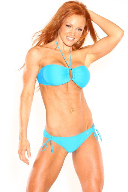 this gorgeous redhead is wbff world bodybuilding and ...