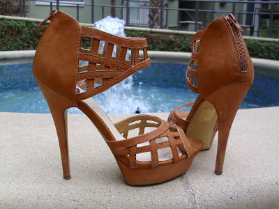 bc92a0d7577d ... with zipper heel by N.Y.L.A. The platform and heel are stained wood