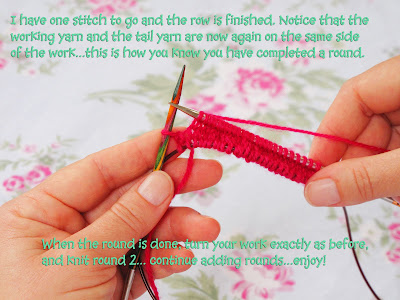 Magic Loop Knitting: Tutorial 2