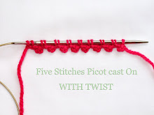 Picot Cast On with a Twist Tutorial