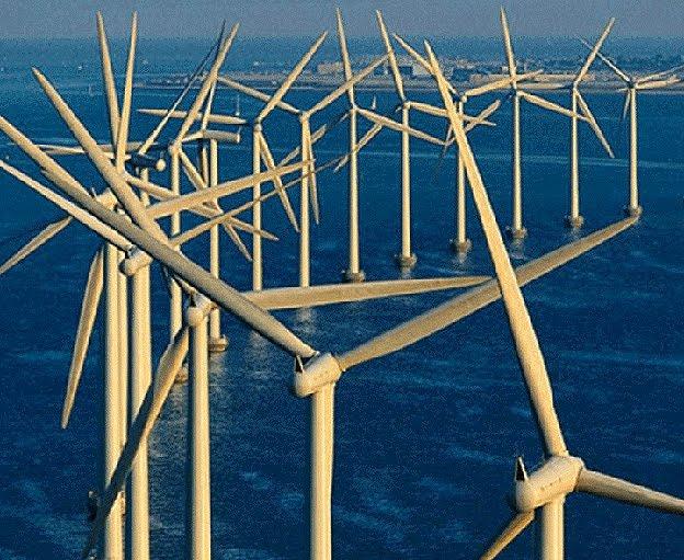 Framtidens vindkraftverk en tornado