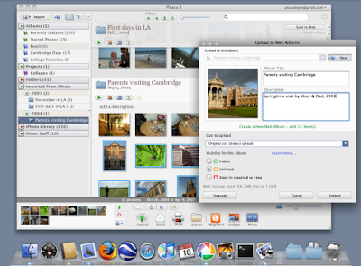 Download Google Picasa 3 beta for Mac OS X   Latest Computer