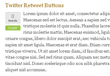 Since Twitter is getting huge popularity these days How to Add Retweet Button to your Blogger Posts