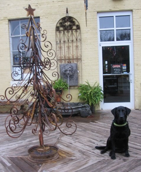 Metal Tabletop Christmas Tree: Architectural Antiques & Custom