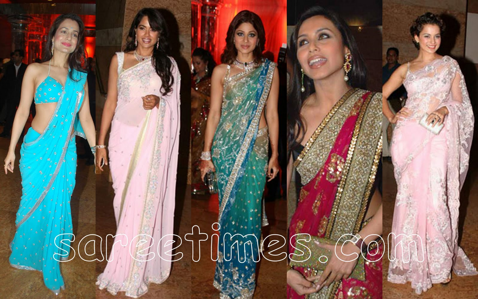 Which Saree Do You Like At Shilpa Shetty S Wedding Reception