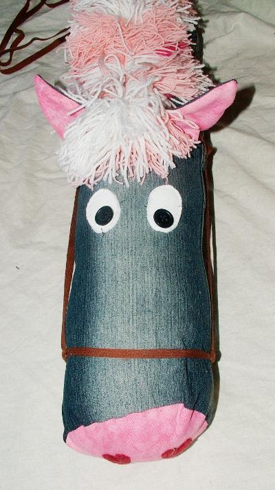Homemade Stickhorse