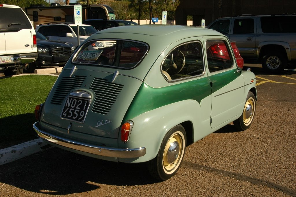 Fiat Of Scottsdale >> OLD PARKED CARS.: 1955 Fiat 600.