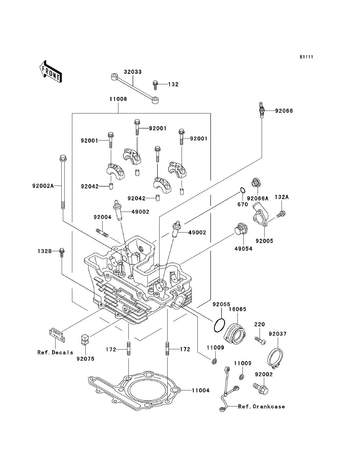vw 2 5 5 cylinder engine parts diagram
