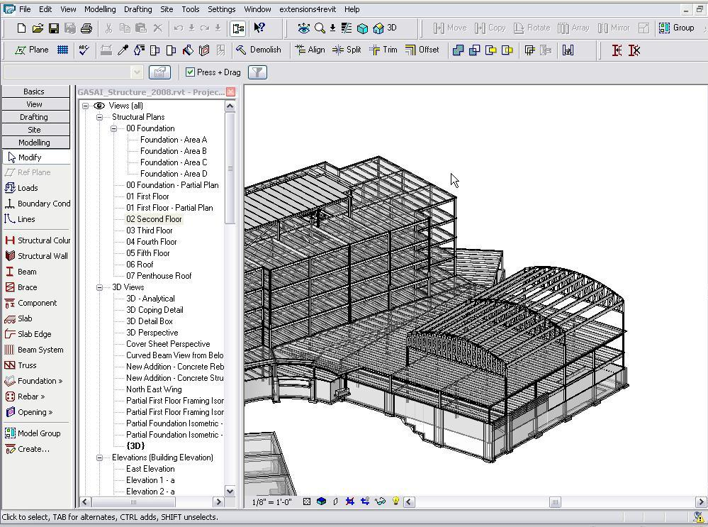 CAD Tutorials: Autodesk Revit demonstrations
