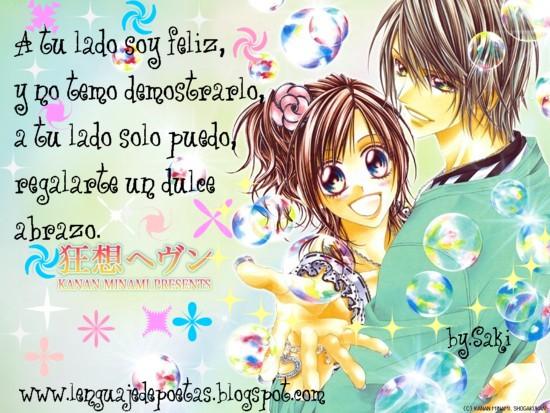 Imagenes De Amor Anime Con Frases