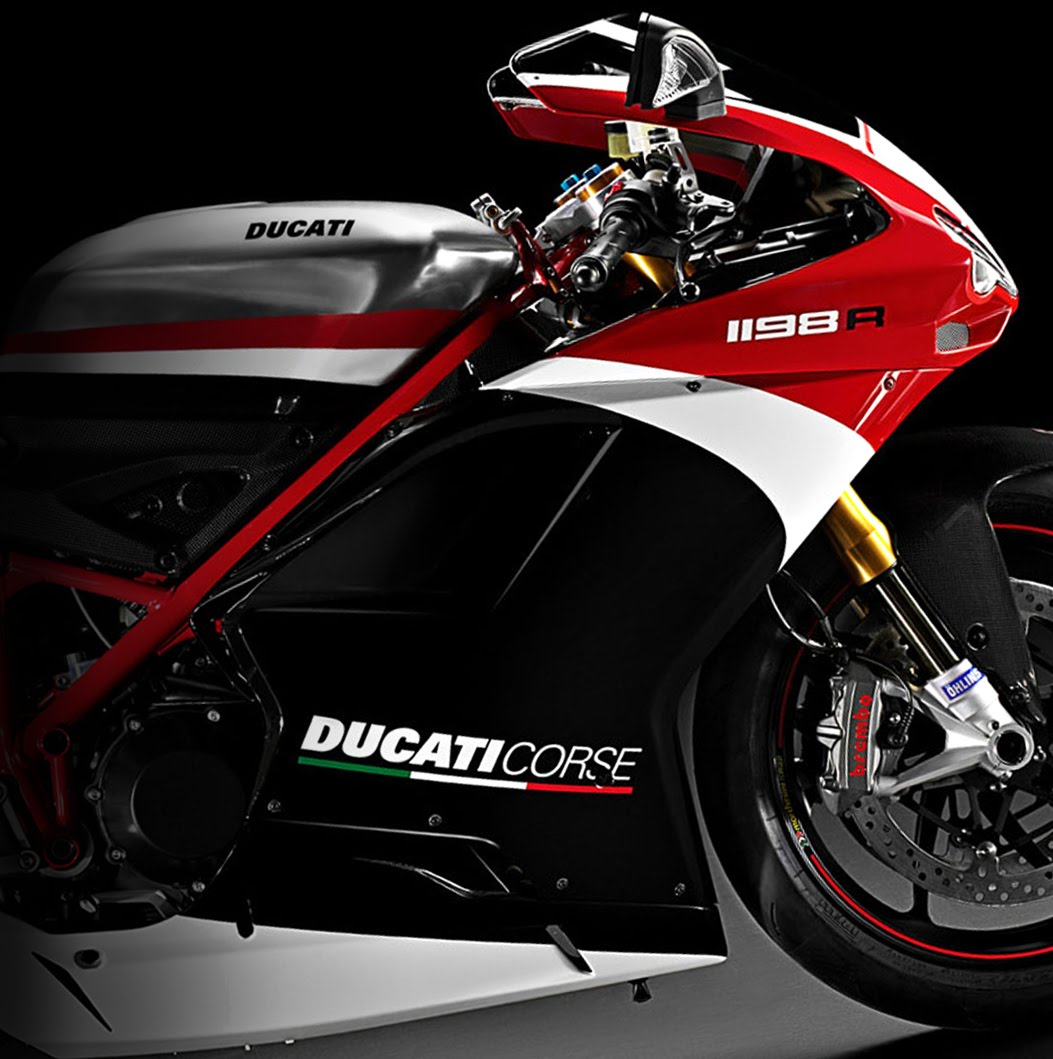 burn the hell's highway: 2011 ducati 1198r corse special edition