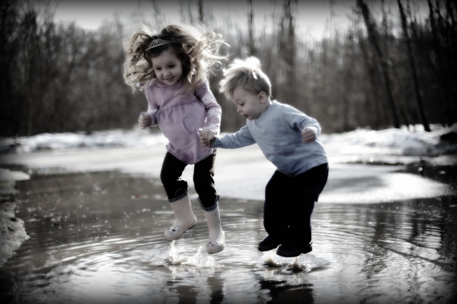 Live And Learn: My New Hobby's : Puddle Jumping