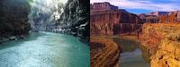 Green Canyon Ciamis dengan Grand Canyon Amerika Serikat