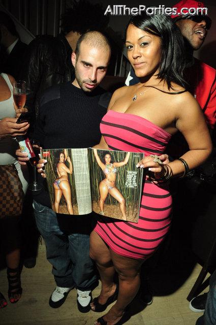 @Yaris_Sanchez, @JenSkeye,@jaellima at the Smooth Magazine