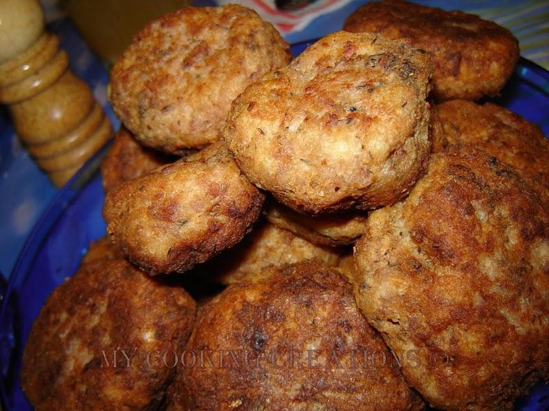 Пържени кюфтета * Carne tritato fritto