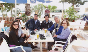 JAY PASACHOFF AND HIS WIFE WITH MEMBERS OF O.F.A.