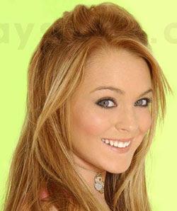 Lindsay lohan eye color