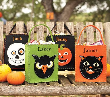 Diy Halloween Trick Or Treat Bags.Clever Infusion Diy Trick Or Treat Bags