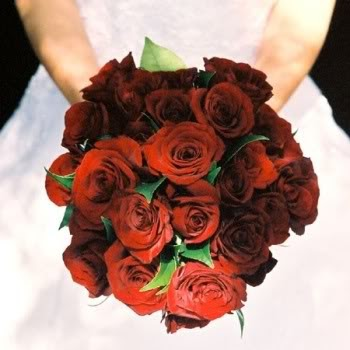 Bouquet Bridal: Red Rose Bouquet
