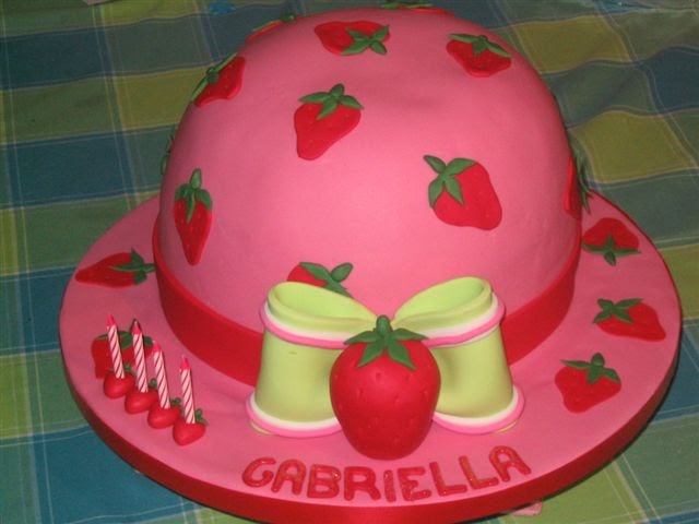 Birthday Cake Strawberry Shortcake Themed Cakes