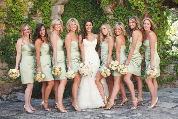 Bridesmaids Gowns January 2011