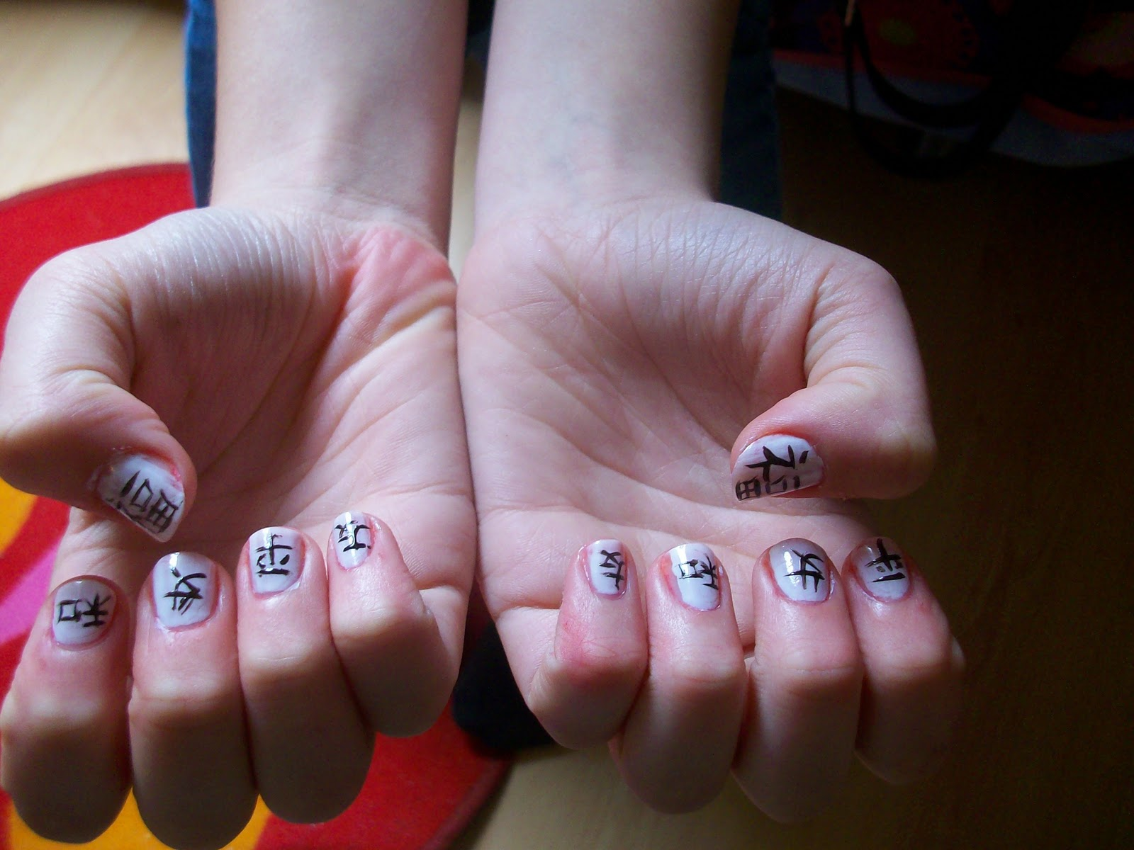If you can dream it - you can do it.: Chinese nail art.