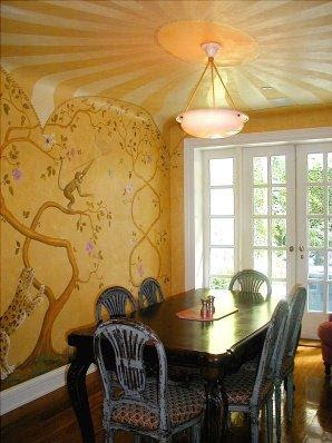 Simple Modern Dining Room