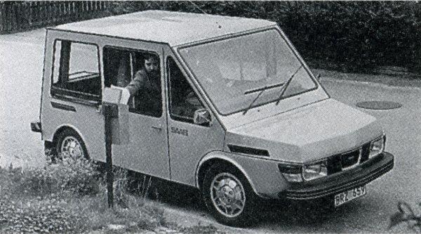 CO2 E - RACE/CO2 GREEN DRIVE: Saab-Scania 99 Electric Postal Truck