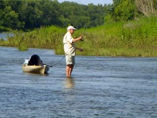 Texas Fly Fishing School Blog: Brazos River Fishing Trip