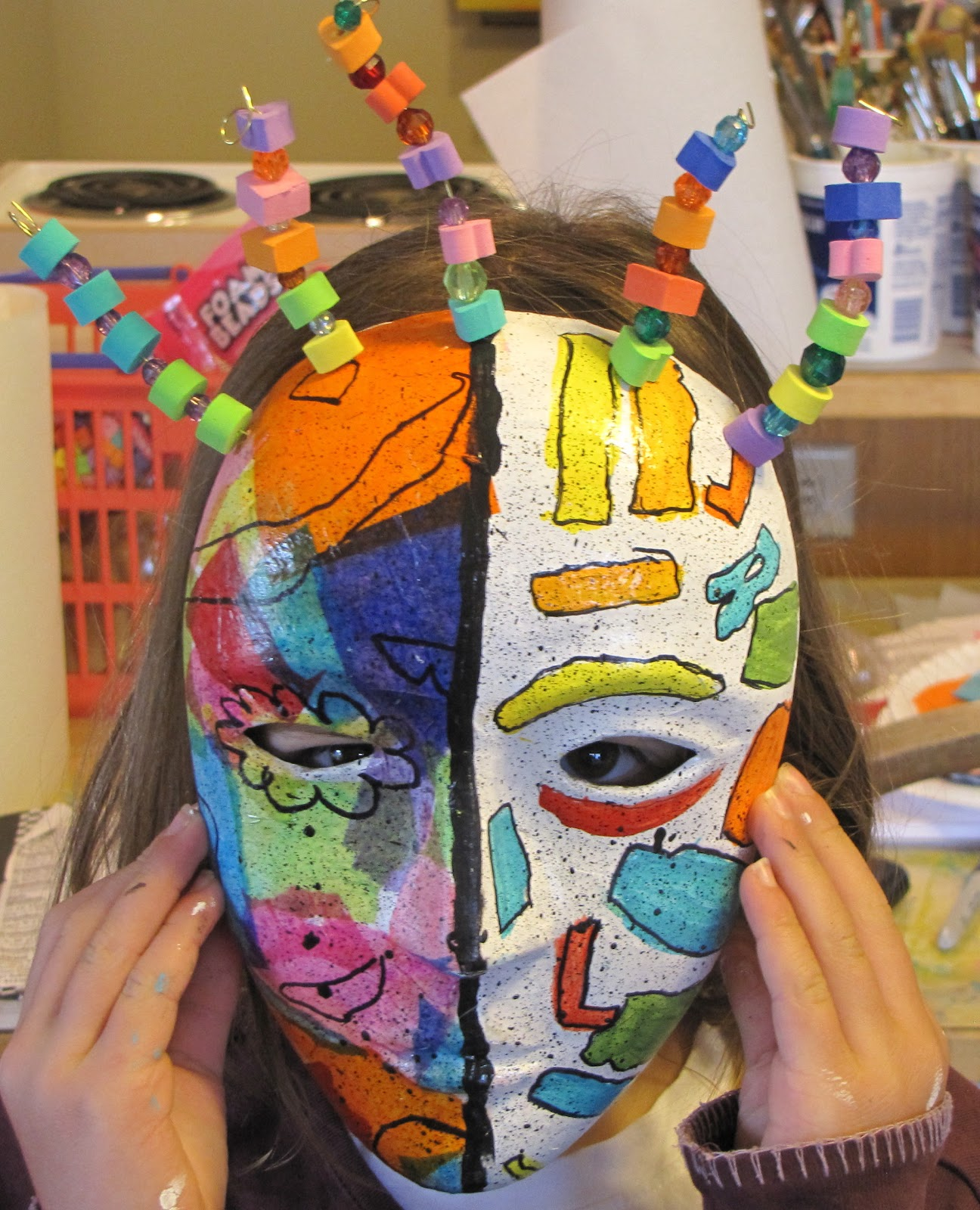 Picasso Masks Art Project