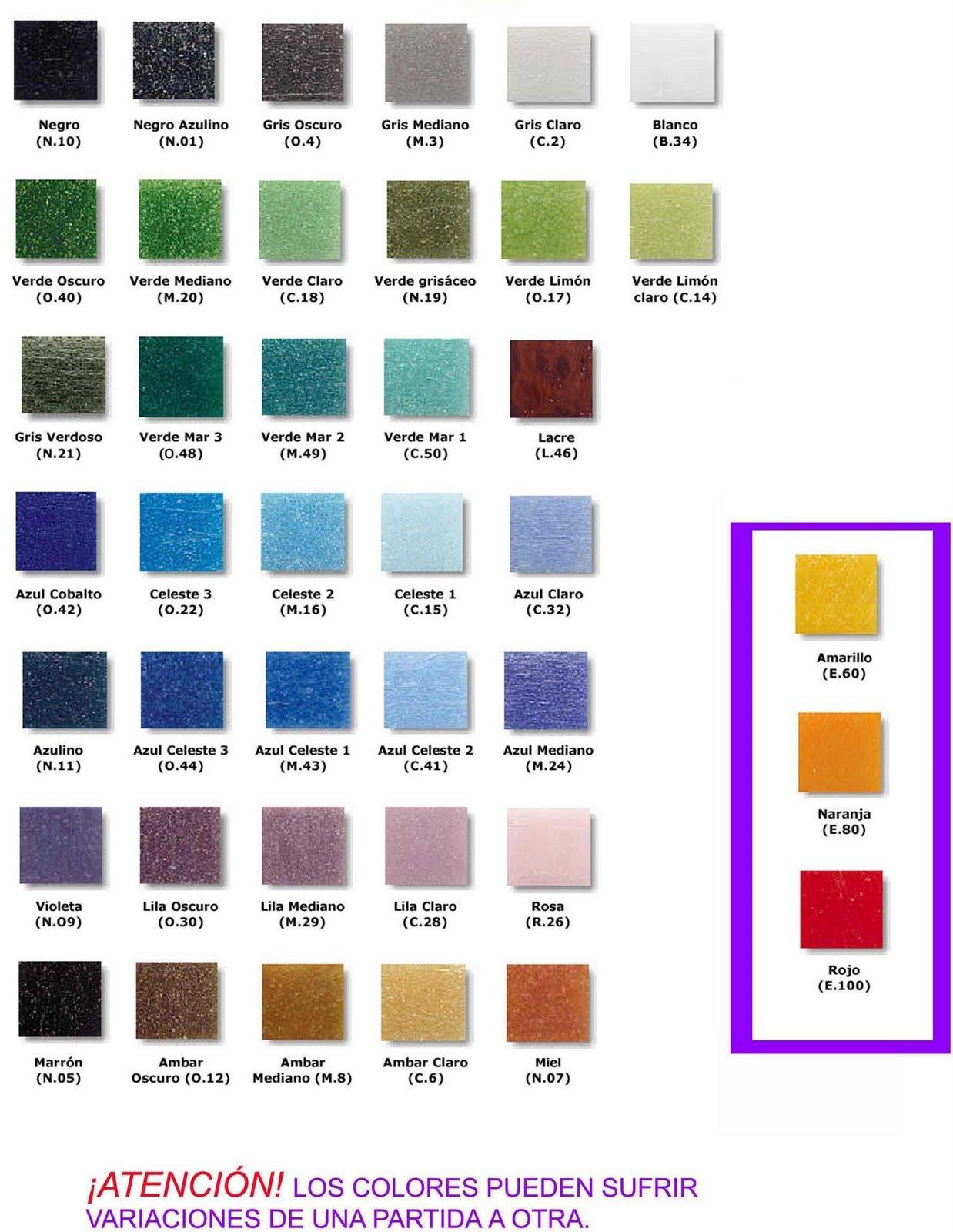 Catlogos de colores  Imagui