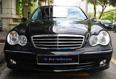 For Wheels: Courtesy Drive: Mercedes-Benz C230 V6 (W203)