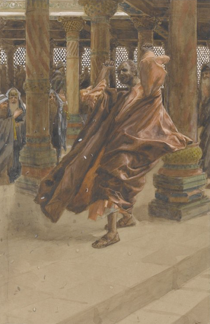 """Judas returns the money"" - James Tissot"