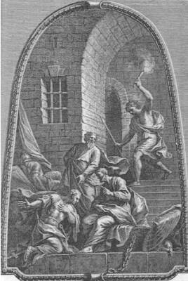 """Earthquake in the prison"" - Sir James Thornhill"