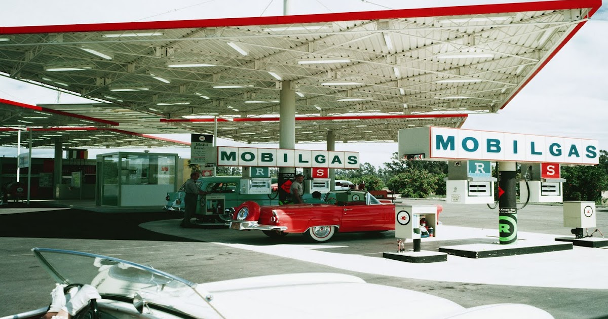 Gas Stations Of The 1950s Modern Design By Moderndesign Org