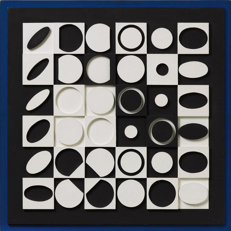 Photo Noir Et Blanc Design noir et blancvictor vasarely | modern design