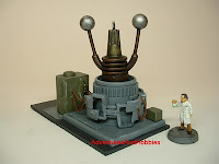 terrain mad science weapon laboratory equipment warhammer 40k 25-30 mm science fiction miniatures