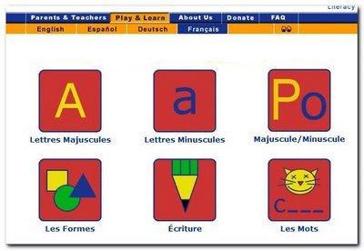 موقع رائع لتعليم اللغة الفرنسية للاطفال