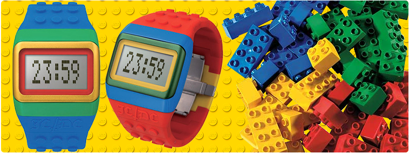 f0e5c504f7f Irei com Doroty  Relógio de Pulso LEGO