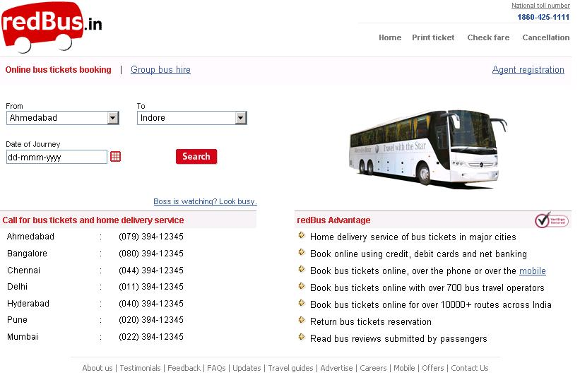 Redbus Booking: Book Online Bus Tickets with RedBus.in ...