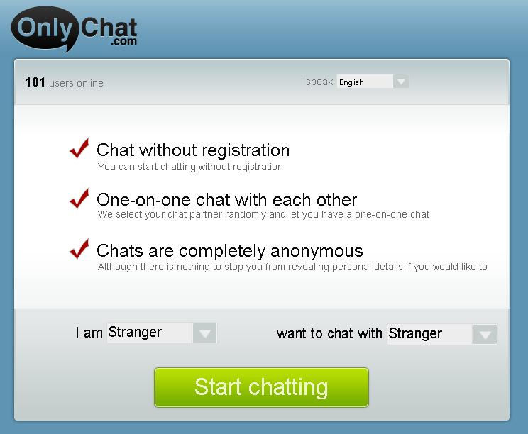 Dating chat online no registration