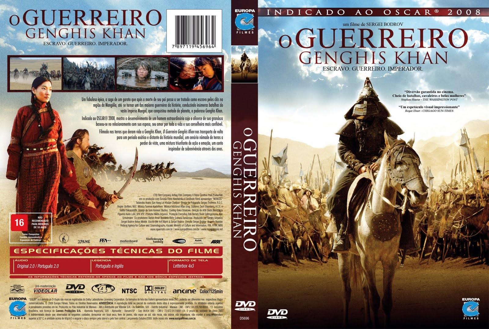 O Guerreiro – (Genghis Khan / Mongol) 2007 [DVDrip,DVDR] Grátis ...