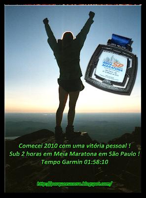 Vitória Pessoal - Meia Maratona de São Paulo