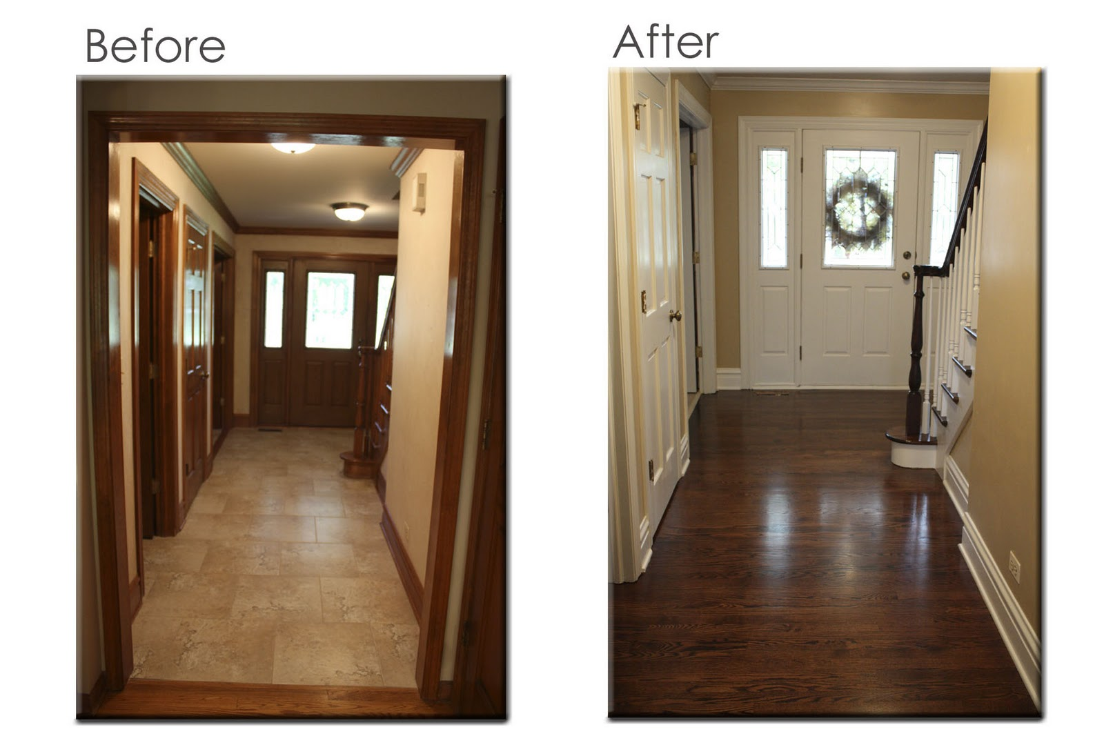 Can You Restain Kitchen Cabinets Decorating The Ville The Never Ending Floor Refinishing